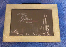 """Jewel Collection All That Glitters Picture Frame 7.5""""x5.5"""" Holds 4x6 Picture"""