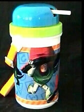 DISNEY STORE Toy Story 2 Canteen Thermos Child Water Bottle w/Retractable Straw
