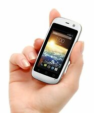 White Mini SmartPhone 4G World Smallest Android Mobile Phone Small GSM Unlocked