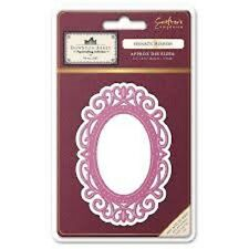 Crafters Companion Downton Abbey Die - Ornate Mirror Die -NEW!!