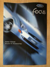 FORD FOCUS RANGE 1998-99 UK Inchiostri Accessori opuscolo