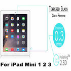 100% 9H Premium Tempered Glass Screen Protector Film For Apple iPad Mini 1/2/3