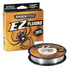 SPIDERWIRE EZ FLUORO - 125m Spools - All Sizes - 100% Fluorocarbon