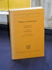 Wolfram von Eschenbach - Parzival Buch I bis VI v. 1961
