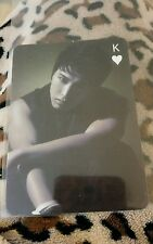 Super junior sungmin OFFICIAL trump photocard Kpop K-pop bts btob infinite  exo