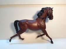 Horse Model Articulating legs & head molded body separate harness
