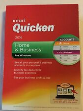 Intuit Quicken Home and Business 2016 NEW Retail Sealed