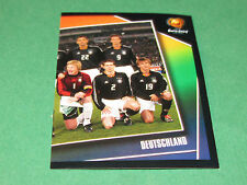N°295 EQUIPE TEAM ALLEMAGNE DEUTSCHLAND PANINI FOOTBALL UEFA EURO 2004 PORTUGAL