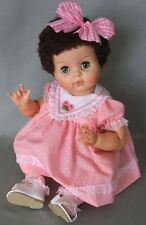 """1950's BABY DOLLIKIN Brunette 21"""" Extra-Joints BABYDOLL Doll BEAUTIFUL"""