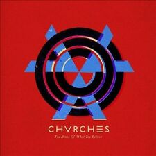 Bones of What You Believe [LP] by Chvrches (Vinyl, Sep-2013, Glassnote...