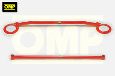 OMP FRONT & REAR UPPER STRUT BRACE FORD ESCORT COSWORTH