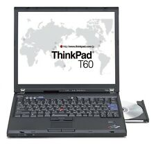 "Lenovo ThinkPad T60 Intel Core Duo T2400 1830Mhz 2048MB 80GB 14,1"" DVD-RW WLAN J"