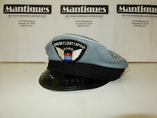 Vtg 1950s-60s Obsolete United Airlines Junior Flight Captain's Hat