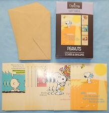 Box of 12 Get Well Cards Featuring the Peanuts {DaySpring} 77553 - New