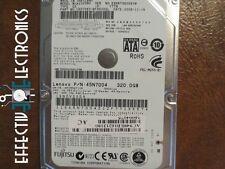 Fujitsu MJA2320BH (CA07083-B596000L) 0084001C 320gb Sata Hard Drive