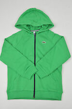 SALE BRAND NEW LACOSTE NWD KIDS GREEN FULL ZIP HOODIE SIZE: 12 YEARS