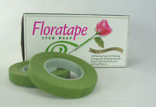 "Professional Florist Quality 2 Rolls Light Green Floral Tape 1/2"" Wedding  Craft"