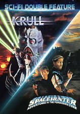 Sci-Fi Double Feature: Krull / Spacehunter DVD VG Used R1