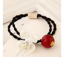 New Fashion OL elegant rhinestone pearl shell flower hair accessory / hair band