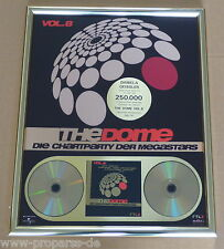 "The Dome Gold Award ""The Dome 8"" Falco, Xavier Naidoo, Toten Hosen, Depeche Mode"