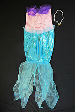 Cute Mermaid Womens Halloween Costume Fairy Tale Princess Cute Girls Ariel NEW