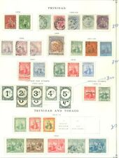 TRINIDAD & TOBAGO : Mint & Used collection on album pages. Catalog £265.00.