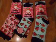 Joblot Of Girls Socks Size 3-5, 9-12, 12-3 - 3 pack
