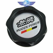 New Black Engine Oil Filler Cap Tank Cover Mugen Aluminum For Honda Acura Civic
