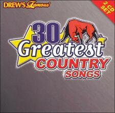 Drew's Famous 30 Greatest Country Songs 1, Drew's Famous Party Music, New