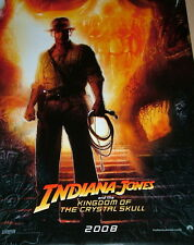 US Plakat Indiana Jones 4 KINGDOM OF THE CRYSTAL SKULL One Sheet gerollt