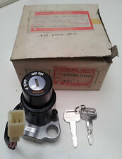 NOS KAWASAKI KZ400 b1/b2/h1 LTD KZ440 BELT - IGNITION SWITCH ASSY KEY SET