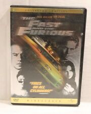 The Fast and the Furious (DVD, 2002) Paul Walker & Vin Diesel Collector's Ed.