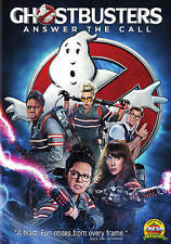 Ghostbusters Answer The Call (DVD, 2016) with the all gIrl busters
