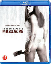 Sorority Party Massacre NEW Cult Blu-Ray Disc Chris W. Freeman Thomas Downey