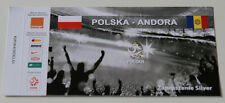 Ticket for collectors INVITATION * Poland - Andorra 2012 Warszawa