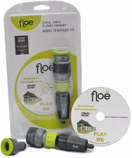 FLOE WATER DRAINAGE DRAIN DOWN KIT: HOLIDAY HOME, CABIN OR STATIC CARAVAN