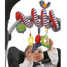 Baby Toddlers Pram Stroller Spiral Cot Hanging Musical Toys For Auto Car Seat H
