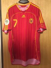 Camiseta Selección Española MUNDIAL 2006 RAUL Shirt Spain Adidas