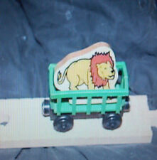 CIRCUS LION TRAIN wooden ~Thomas ~Fits wood track -RARE