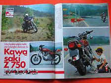 Rivista Motociclismo 1976 con prova KAWASAKI Z 750 - MOTO D' EPOCA -