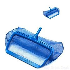 Pool Cleaner Kit Heavy Duty Strong Deep Bag Rake Hand Swimming Cleaning Supplies