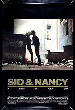 SID AND NANCY * CineMasterpieces MOVIE POSTER VICIOUS SEX PISTOLS PUNK ROCK