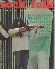 """""""ROCK & FOLK n°40 mai 1970"""" Jerry GOODMAN (FLOCK) Photo Jean-Pierre LELOIR"""