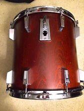 """SONOR PHONIC Genuine Mahogany Veneer 14 x 14"""" Tom Vintage drum Floor German Made"""