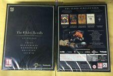 THE ELDER SCROLLS ANTHOLOGY PC DVD NEW SEALED PAL UK ENGLISH STEAM 10xDVD SKYRIM