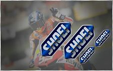 SHOEI X12 GT AIR RF QWEST X-FOURTEEN VFX-W NEOTEC J FORCE HELMET VISOR DECALS
