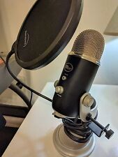 BLUE YETI USB MICROPHONE (Includes Pop Filter)