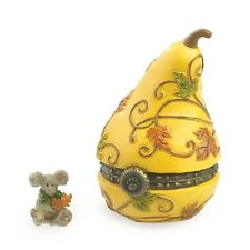 Boyds AUBREY'S GOURD WITH OAKLEY McNIBBLE Treasure Box 4035823 NEW 2013 1E