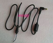 1.2m DC 5.5x1.7mm 90° Right Angle plug cable for Acer laptop notebook adapter