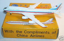 SCHABAK AIRCRAFT AVION PLANE METAL BOEING 747-400 CHINA AIRLINES 921/105 1/600